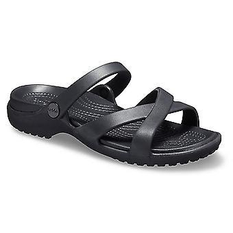 Crocs Women's Meleen Cross Band Slide Sandal