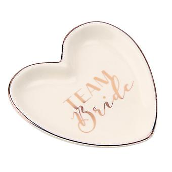 CGB Giftware CM Team Bride Heart Ring Dish