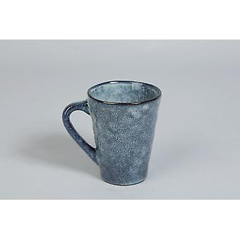 Mok Keramisch blauw 4-pack