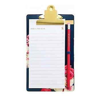 Joules Designs To Do List Pad