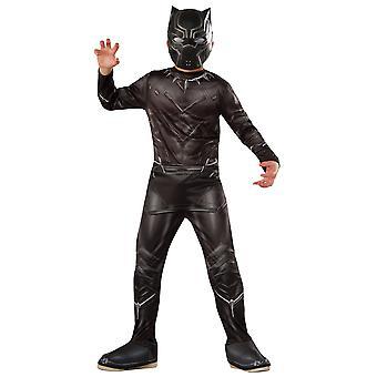 Black Panther Marvel Avengers Endgame Super Hero Movie Book uge drenge kostume