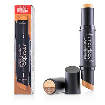 Studio skin shaping foundation + soft contour stick # 2.1 lichtneutraal beige 227010 11.75g/0.4oz