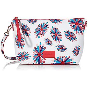 Desigual Hueso women's shoulder bag (Wei /Pink/Blau) Single size