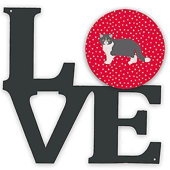 Exotic Shorthair #2 Cat Love Metal Wall Artwork LOVE