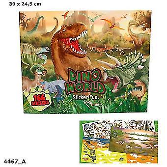 Dino-Welt Stickerfun Malbuch 004467