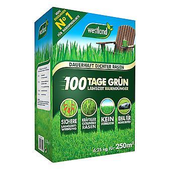 WESTLAND® 100 dagen groen - langdurige gazonmeststof, 6,25 kg voor 250 m2