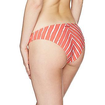 Billabong Kvinner's Off Tide Tropic Bikini Bottom, Vintage Coral, L