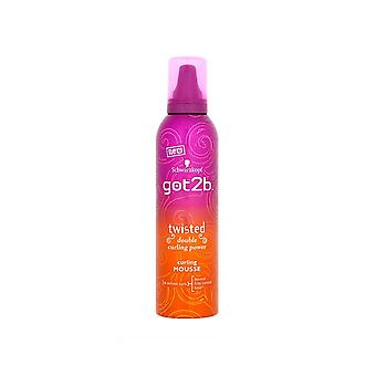 Schwarzkopf Got2b Twisted Curling Mousse