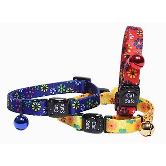 Sandimas Adjustable Flower Collar 12mm (Dogs , Collars, Leads and Harnesses , Collars)