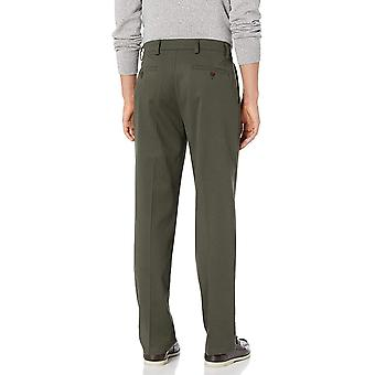 Dockers Men's Classic Fit Easy Khaki Pants D3, Olive Grove (Stretch), 44 30