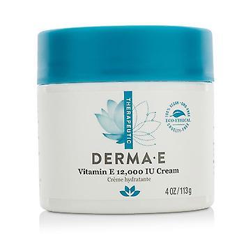 Derma E Therapeutic Vitamin E 12000 Iu Cream - 113g/4oz