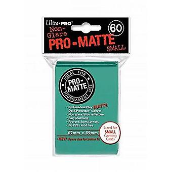 Ultra Pro Matte pequenas mangas cards-Aqua