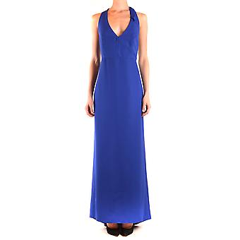 Hh Couture Ezbc432010 Women's Blue Polyester Dress