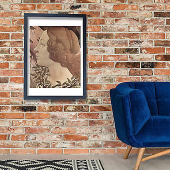 Sandro Botticelli - retrato de Eva Poster impressão giclée