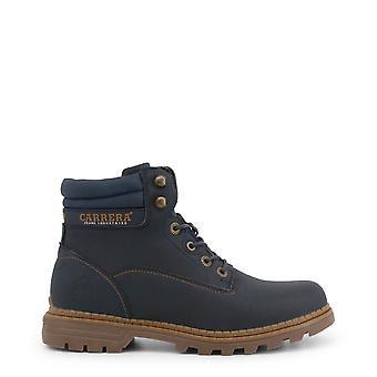 Carrera Jeans Originele Heren Herfst/Winter enkellaars - Blauwe Kleur 36069