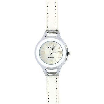Zaza London Silver Tone Sunray Dial Dome Shaped  Ladies Watch LLB853