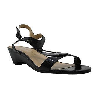 Karen Scott Womens Carmeyy tecido aberto Toe Casual tornozelo cinta sandálias