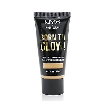 NYX nascido para brilhar! Fundação Naturalmente Radiante - # Clássico Bronzeado 30ml /1.01oz