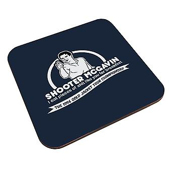 Happy Gilmore Shooter McGavin Breakfast Quote Coaster