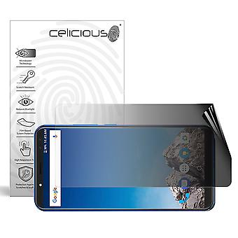 Celicious Privacy 2-Way Landscape Anti-Spy Filter Screen Protector Film Compatible with Vernee X1