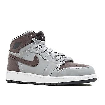Air Jordan 1 retrô alta Prem Bg 'Camo' - 822858 - 027 - sapatos