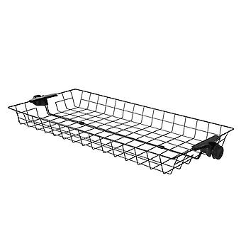 SoBuy FRG34-P01, One Storage Basket for Adjustable Wardrobe Organizer Telescopic Clothes Storage Shelving Series