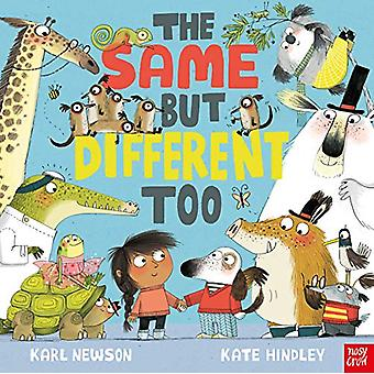 The Same But Different Too by Karl Newson - 9781788004008 Book