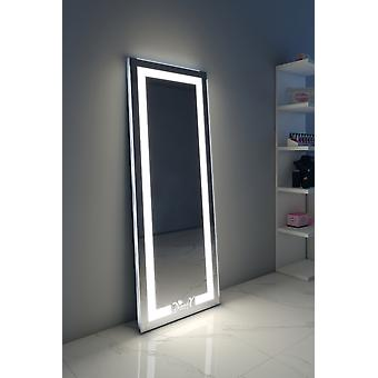 Alexa Full Length Floor Mirror with Warm & Daylight LED€™s
