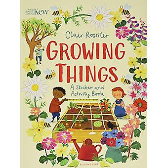 KEW - Growing Things - A Sticker and Activity Book by Clair Rossiter -