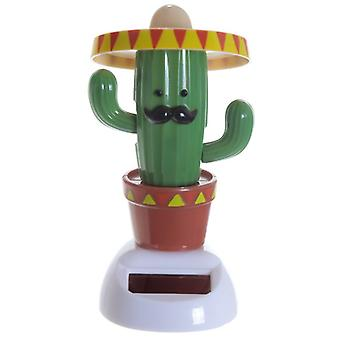 Collectable Cactus wearing Sombero Solar Pal