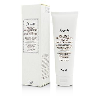 Peony brightening foam face cleanser 206941 125ml/4.2oz