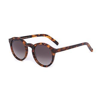Acétate de la Havane de Barstow Monokel lunettes rondes lunettes de soleil