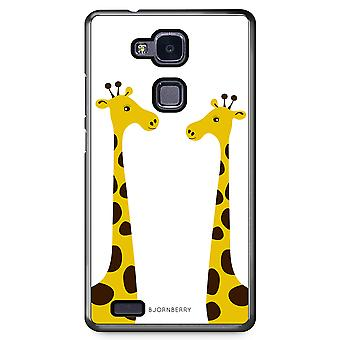 Bjornberry Shell Huawei Honor 5X - Giraffes