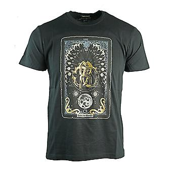 Roberto Cavalli Card Logo Sort T-shirt