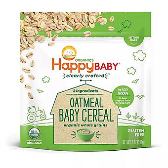 HappyBaby Organics Havermout Baby Cereal (OVERSTOCK SALE)