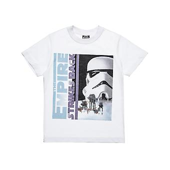 Alouette Boys' Star Wars Shirt With Storm Trooper Print