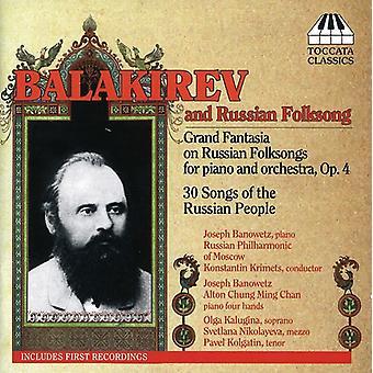 M. Balakirev - Balakirev and Russian Folksong [CD] USA import