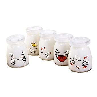 Cute Pudding Bottle Jar - Heat Resistant Containers