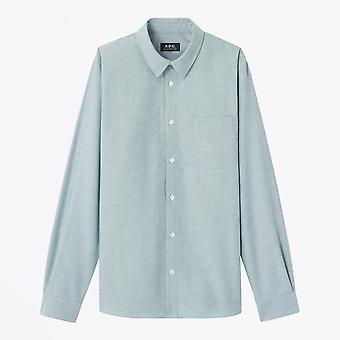 A.P.C.  - Cotton Oxford Shirt - Green