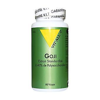 Goji 500mg Standardized Extract 80 vegetable capsules