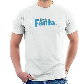 T-shirt dos homens da arte dos 1960s de Fanta flavorful