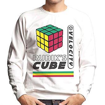 Rubik ' s Velocity retro mannen ' s Sweatshirt