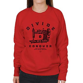 Divide & Conquer New York East Coast Edition Women's Sweatshirt