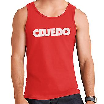 Hasbro Cluedo Text Logo Men's Vest