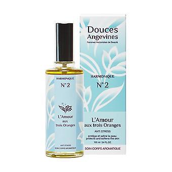 Harmonique nº2 L'Amour aux 3 oranges Body care 100 ml of oil
