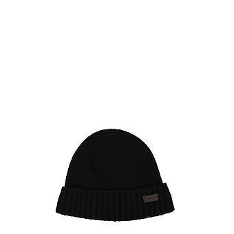Barbour Mha0449bk11 Homme-apos;s Chapeau en laine noire