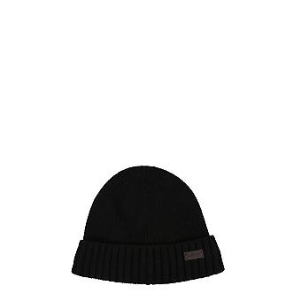 Barbour Mha0449bk11 Men's Black Wool Hat