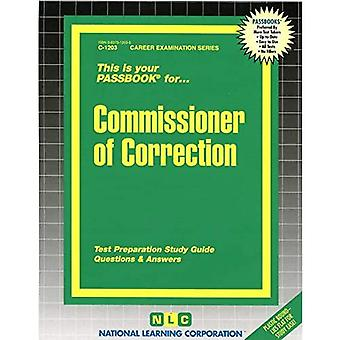 Commissioner of Correction: Passbooks Study Guide