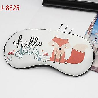 1pc Sleeping Eyepatch Eye Cover Bomuld Creative Lovely Cartoon For Eye - Travel Slap Sleeping Eye Patch