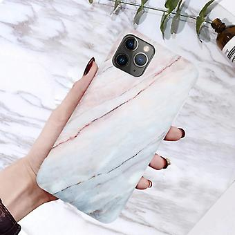 モスカドiPhone 6Sケース大理石のテクスチャ - 耐衝撃光沢のあるケース花崗岩カバーキャスTPU